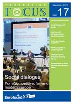 EurWork: Foundation Focus - Social dialogue: For a competitive, fair and modern Europe