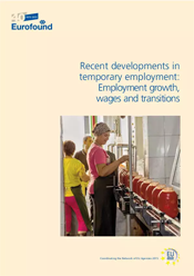 Eurofound-rapport: Recent developments in temporary employment: Employment growth, wages and transitions (åpnes i ny fane)