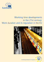 Eurofound.europa.eu: Rapportside: Working time developments in the 21st century: Work duration and its regulation in the EU (åpnes i ny fane)